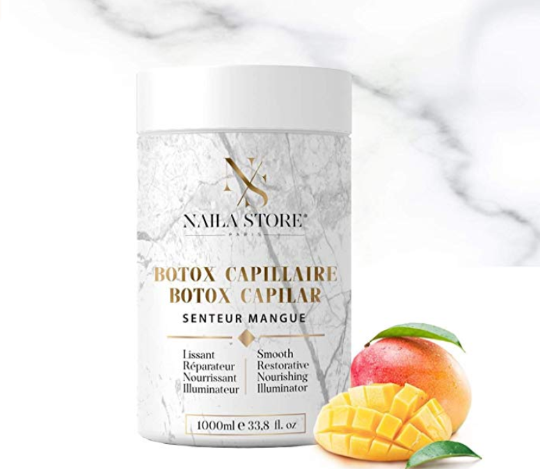 Voici notre Avis sur le Botox Capillaire Naila Store Made in France ?