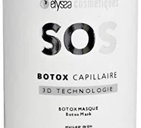 Notre avis sur SOS Botox capillaire 3D technologie à l'huile d'ojon