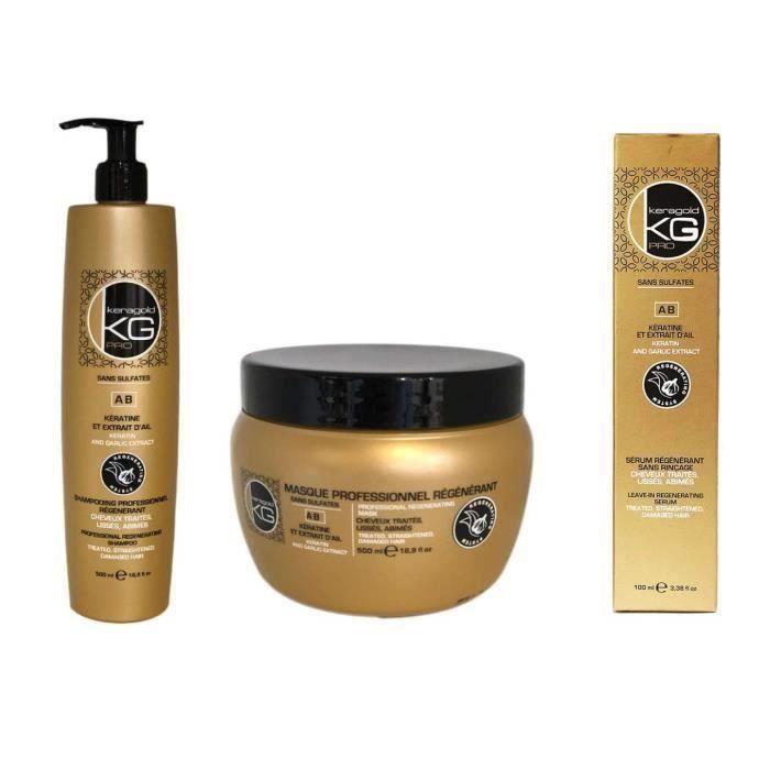 meilleurs shampoings botox
